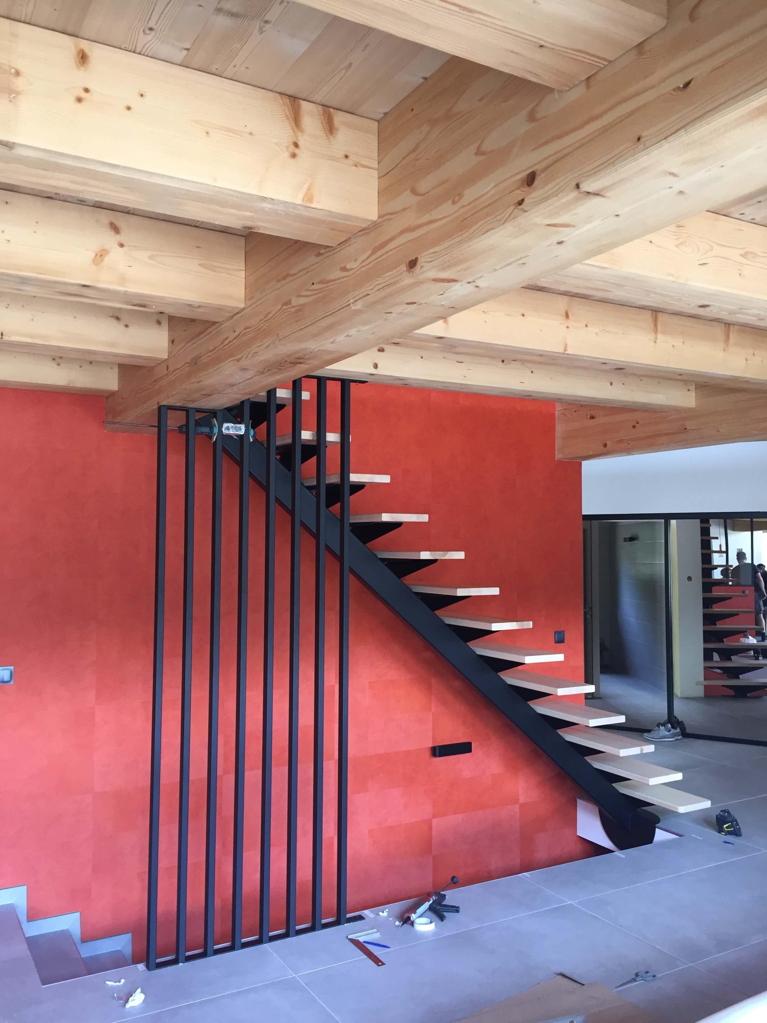 Robi design Métallique Annecy agencement intérieur verrière claustra Tarentaise 7310