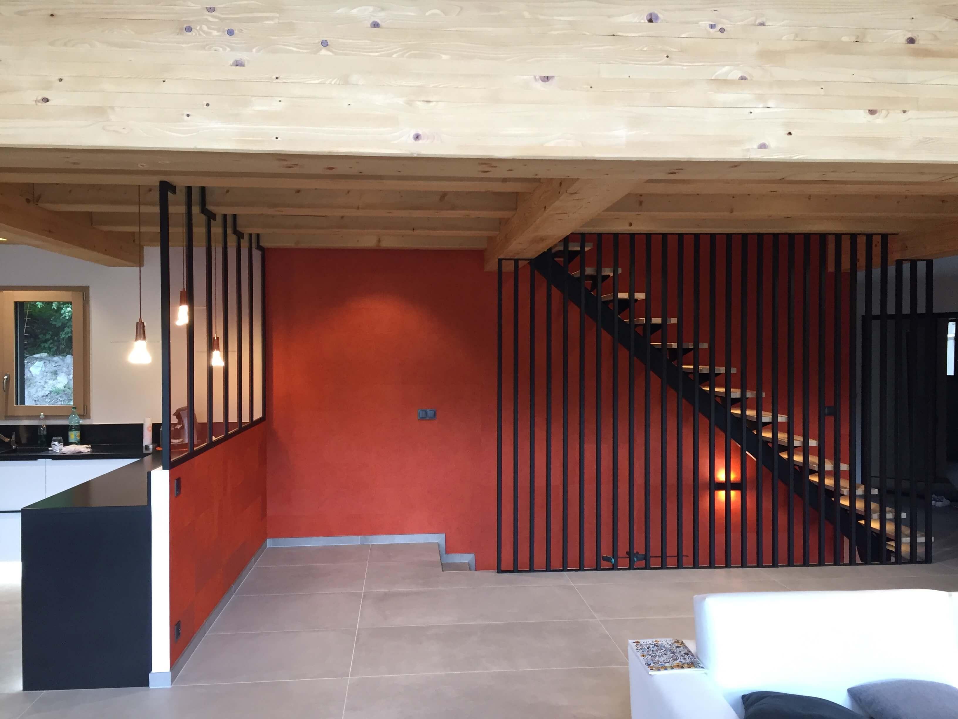 Robi design Métallique Annecy agencement intérieur verrière claustra Tarentaise 7326