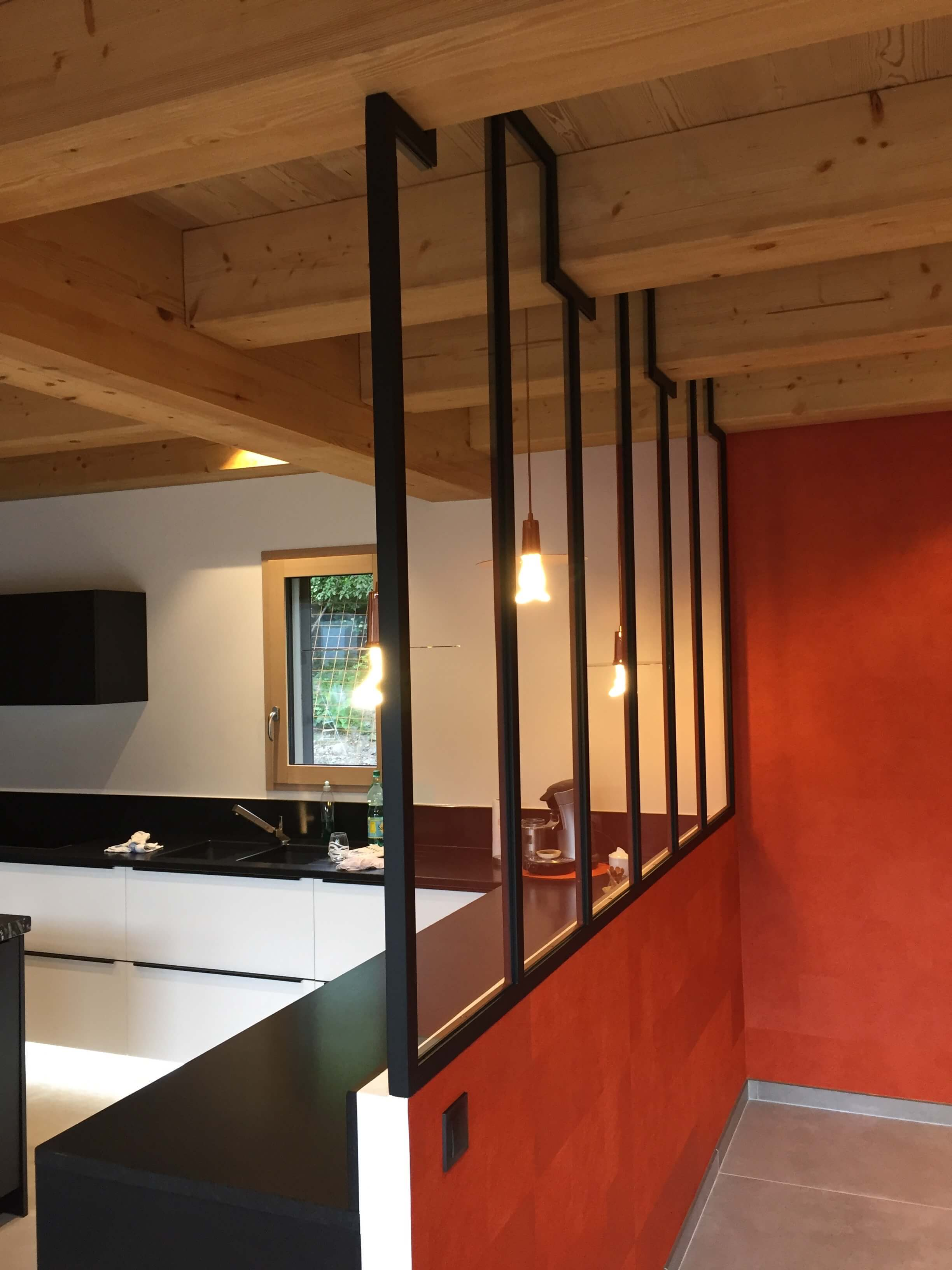 Robi design Métallique Annecy agencement intérieur verrière claustra Tarentaise 7327