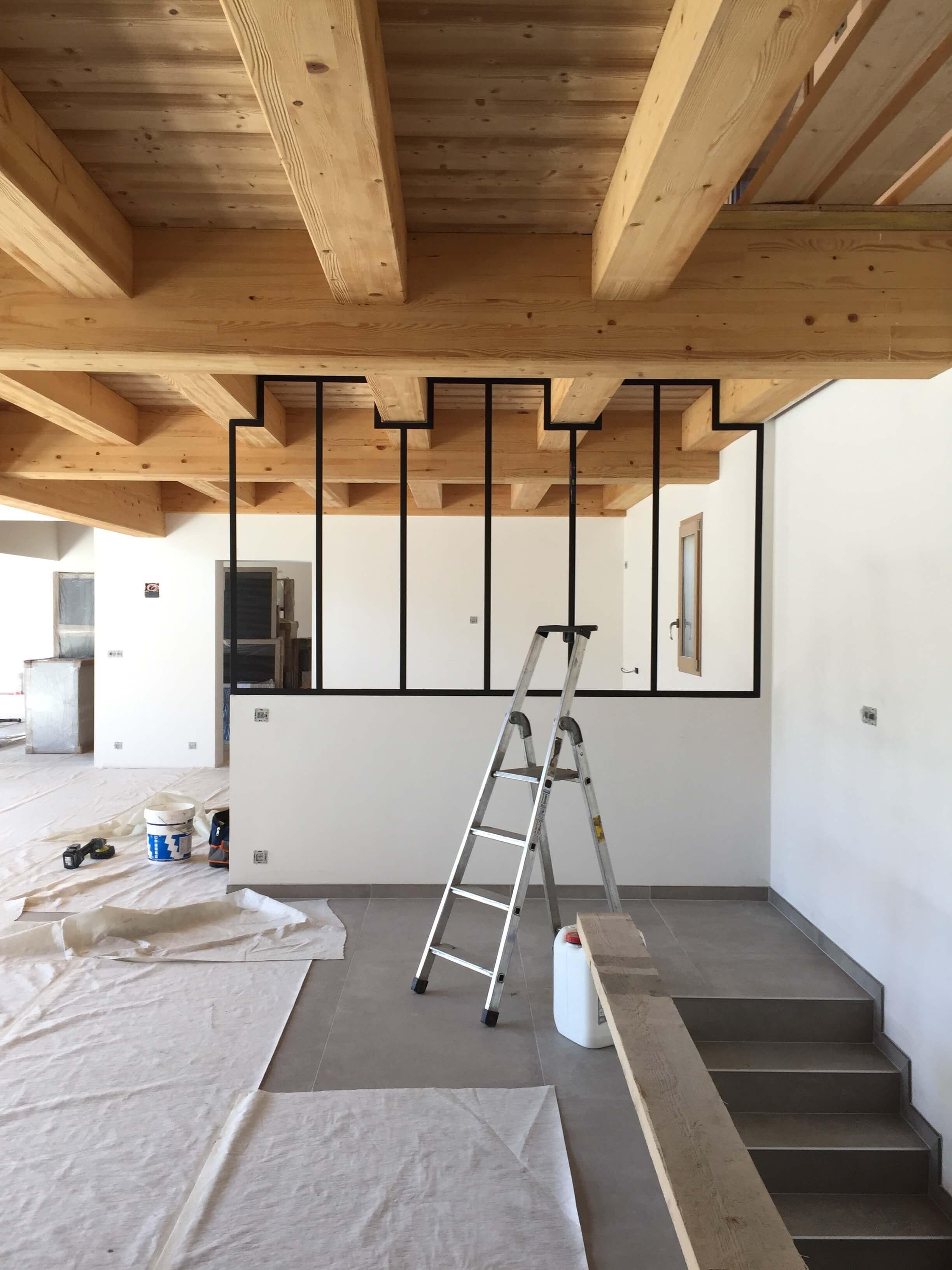 Robi design Métallique Annecy agencement intérieur verrière claustra Tarentaise 734