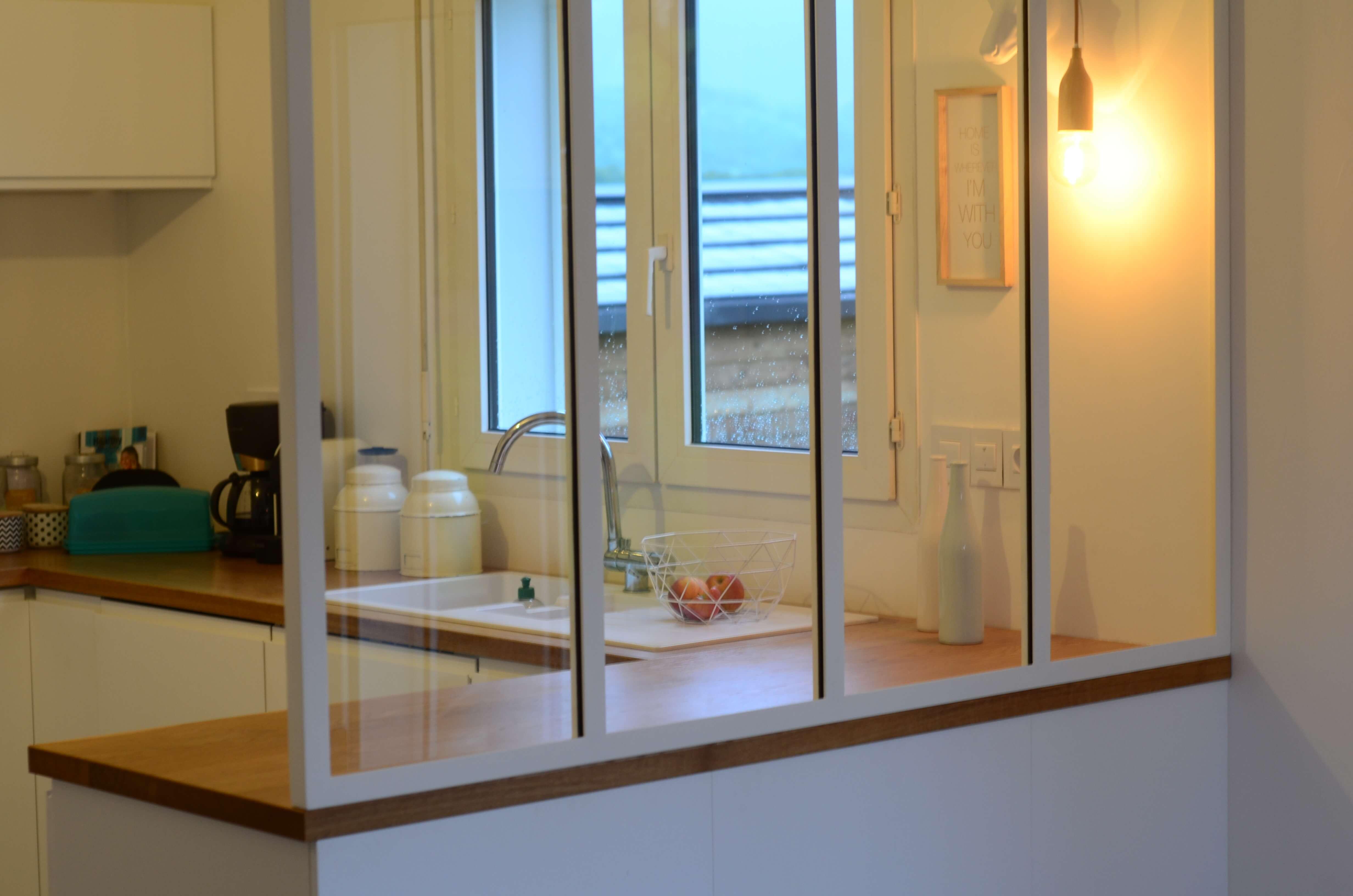Robi design Métallique Annecy Verrière de cuisine Rumilly 749