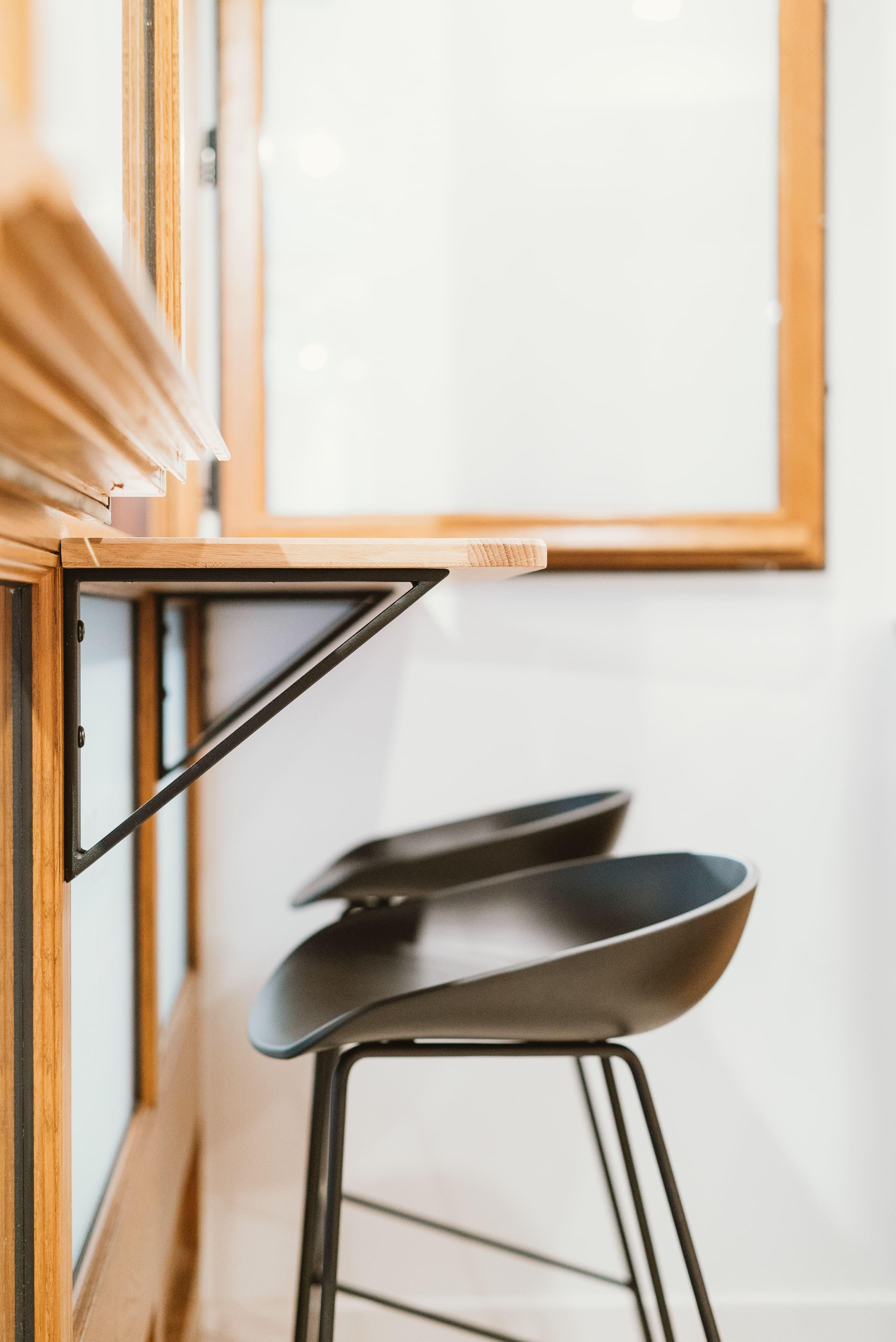 Agencement interieur design métallique ROBI restaurant Haven Annecy 74 agencement en metal 11