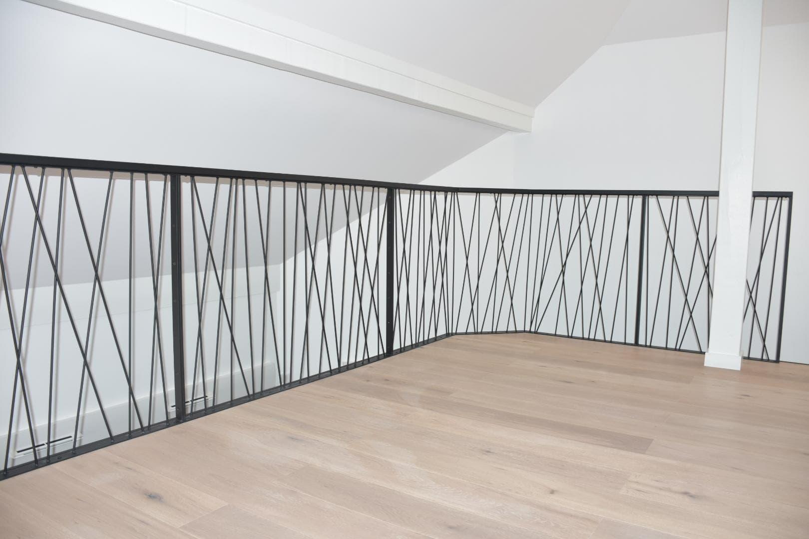 Garde-corps effet toile d'araignée ROBI Annecy (74)2