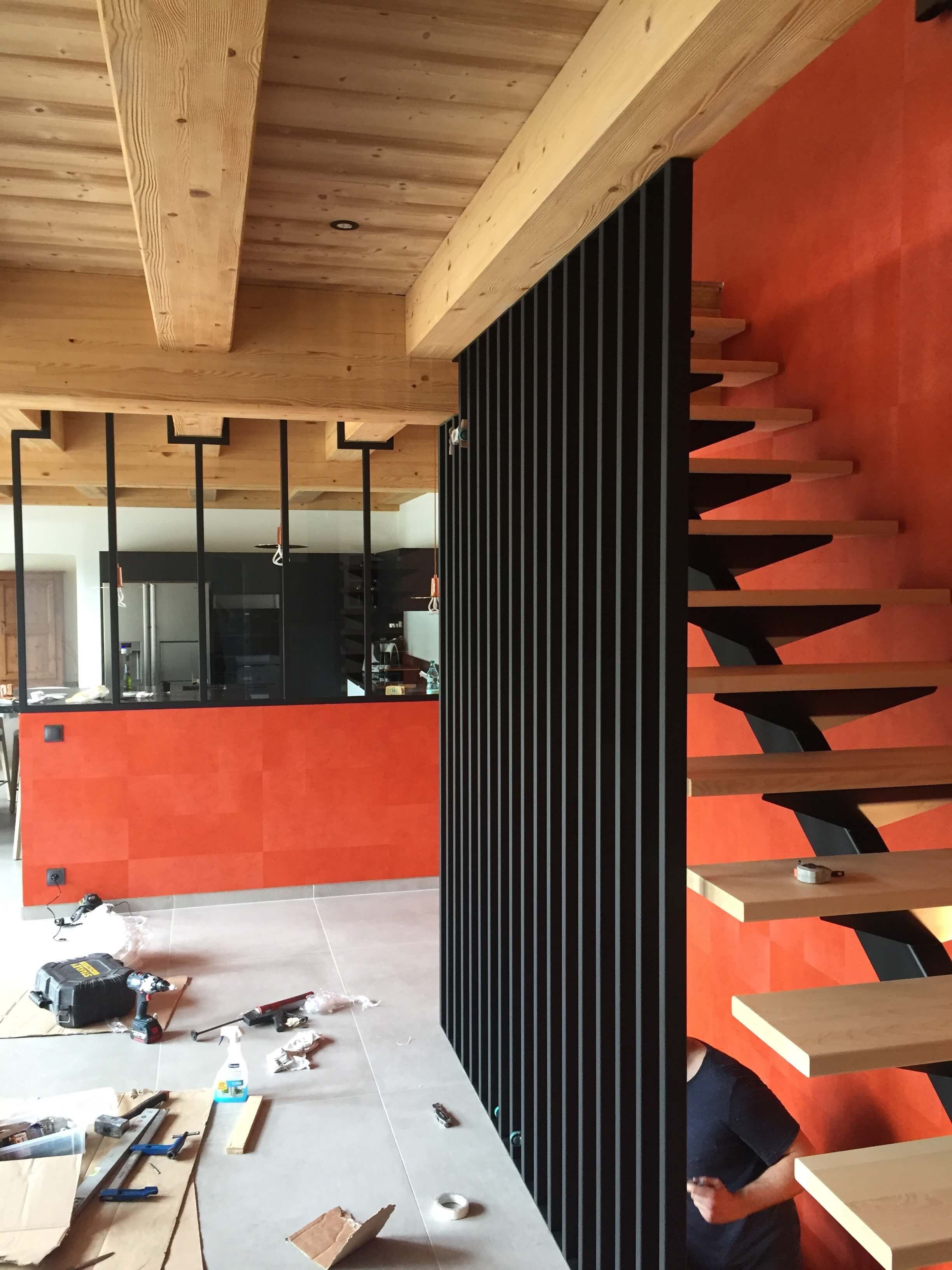 Robi design Métallique Annecy agencement intérieur verrière claustra Tarentaise 7314