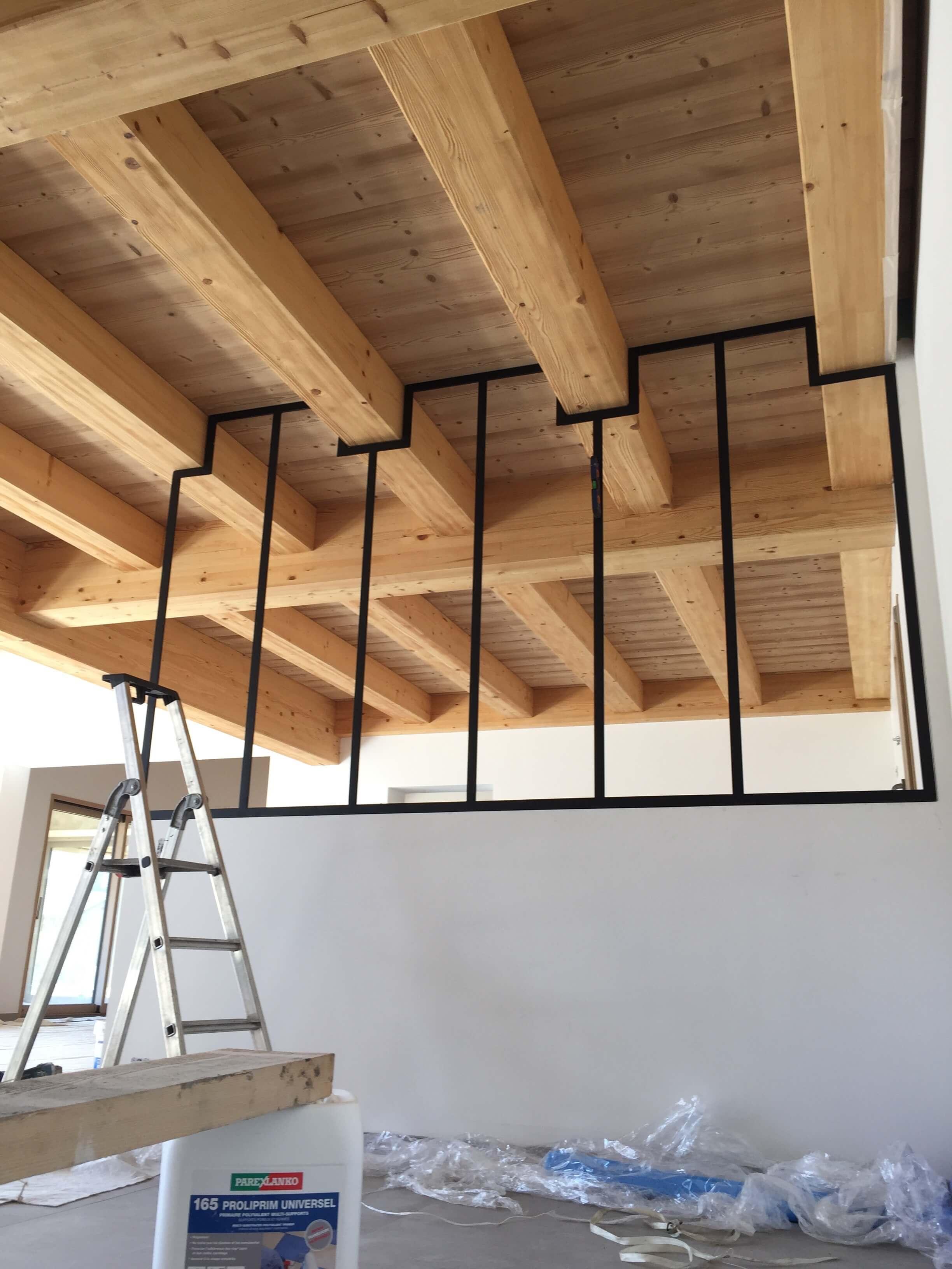 Robi design Métallique Annecy agencement intérieur verrière claustra Tarentaise 732