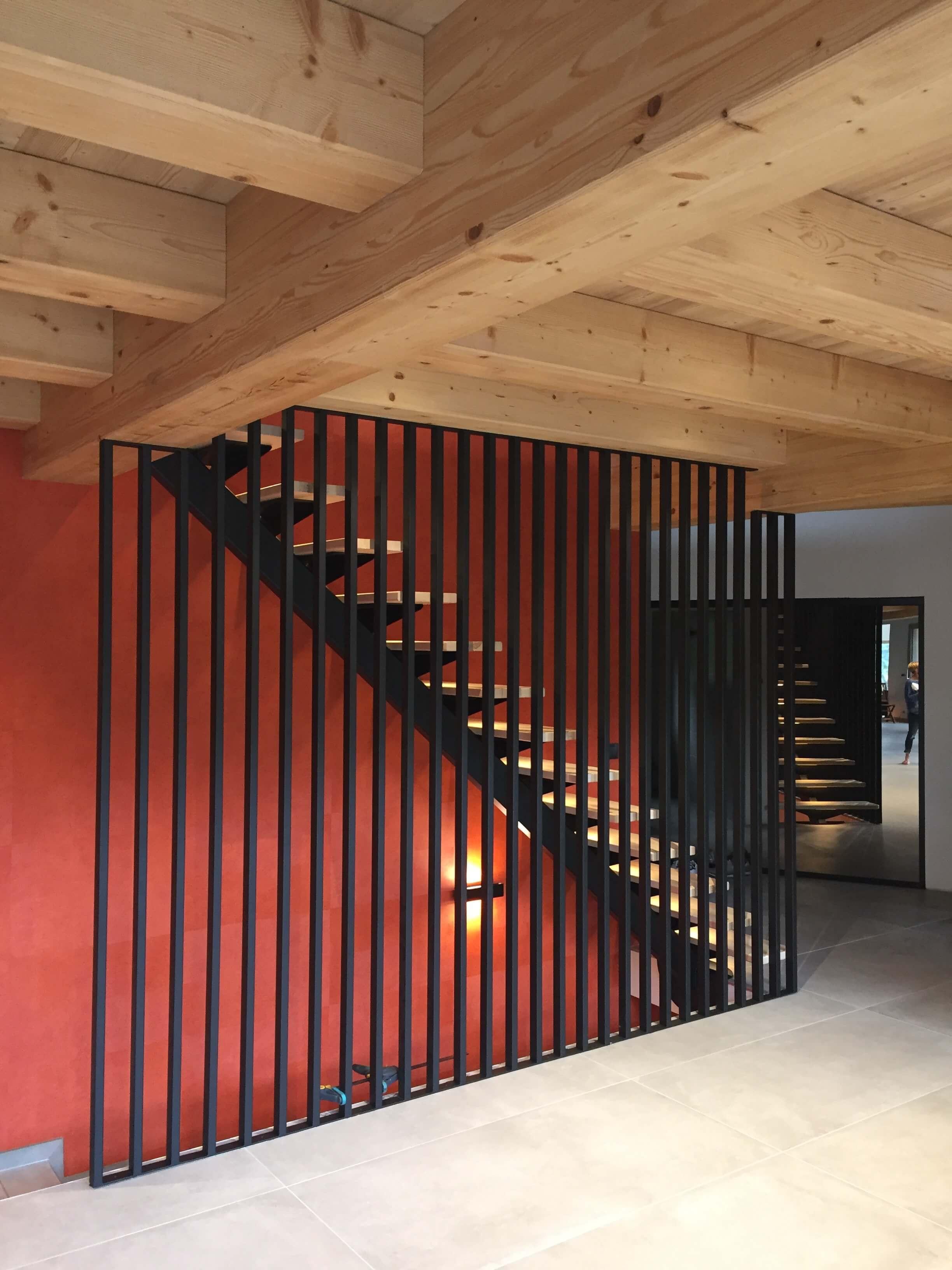 Robi design Métallique Annecy agencement intérieur verrière claustra Tarentaise 7323