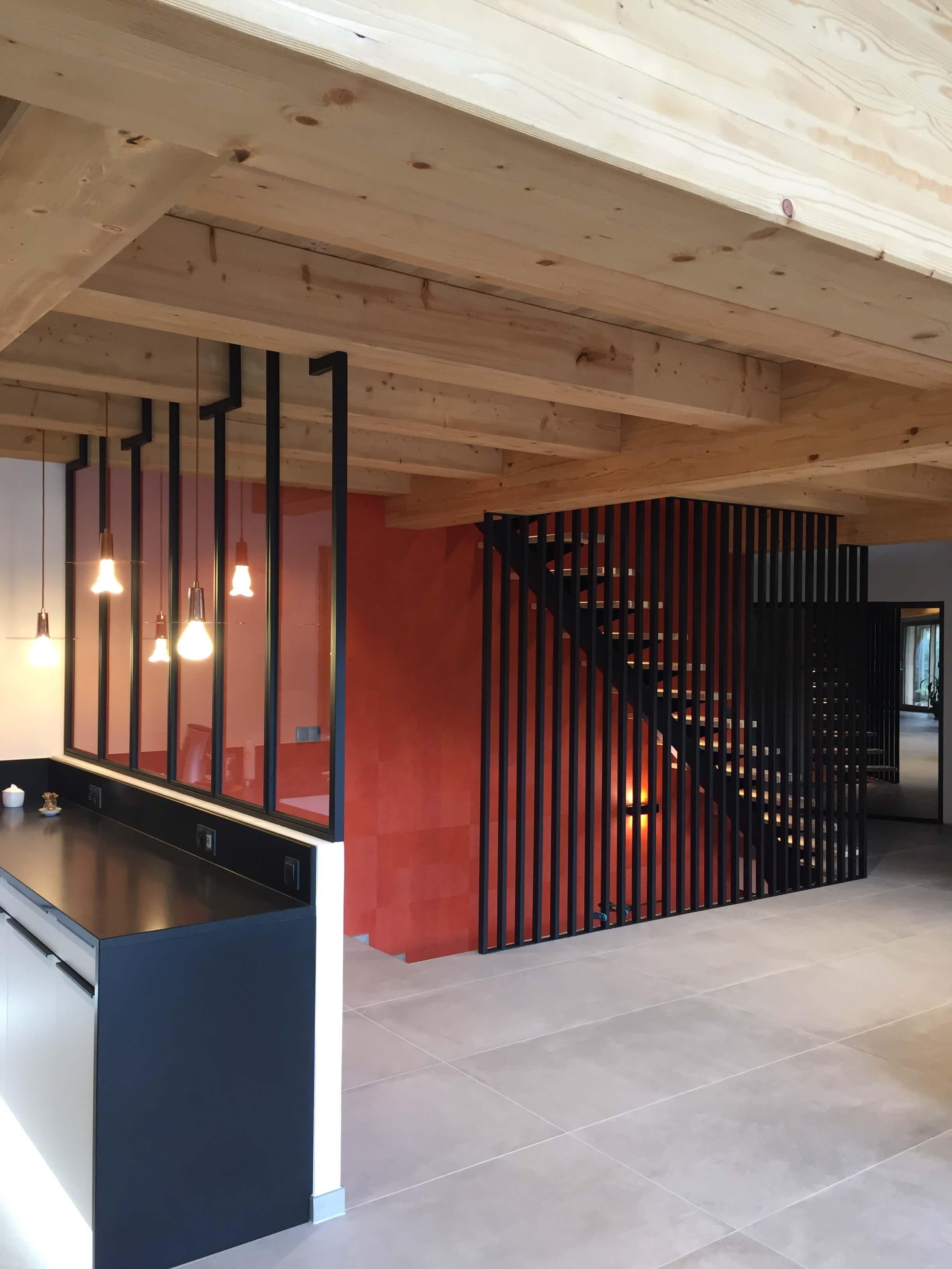 Robi design Métallique Annecy agencement intérieur verrière claustra Tarentaise 7325