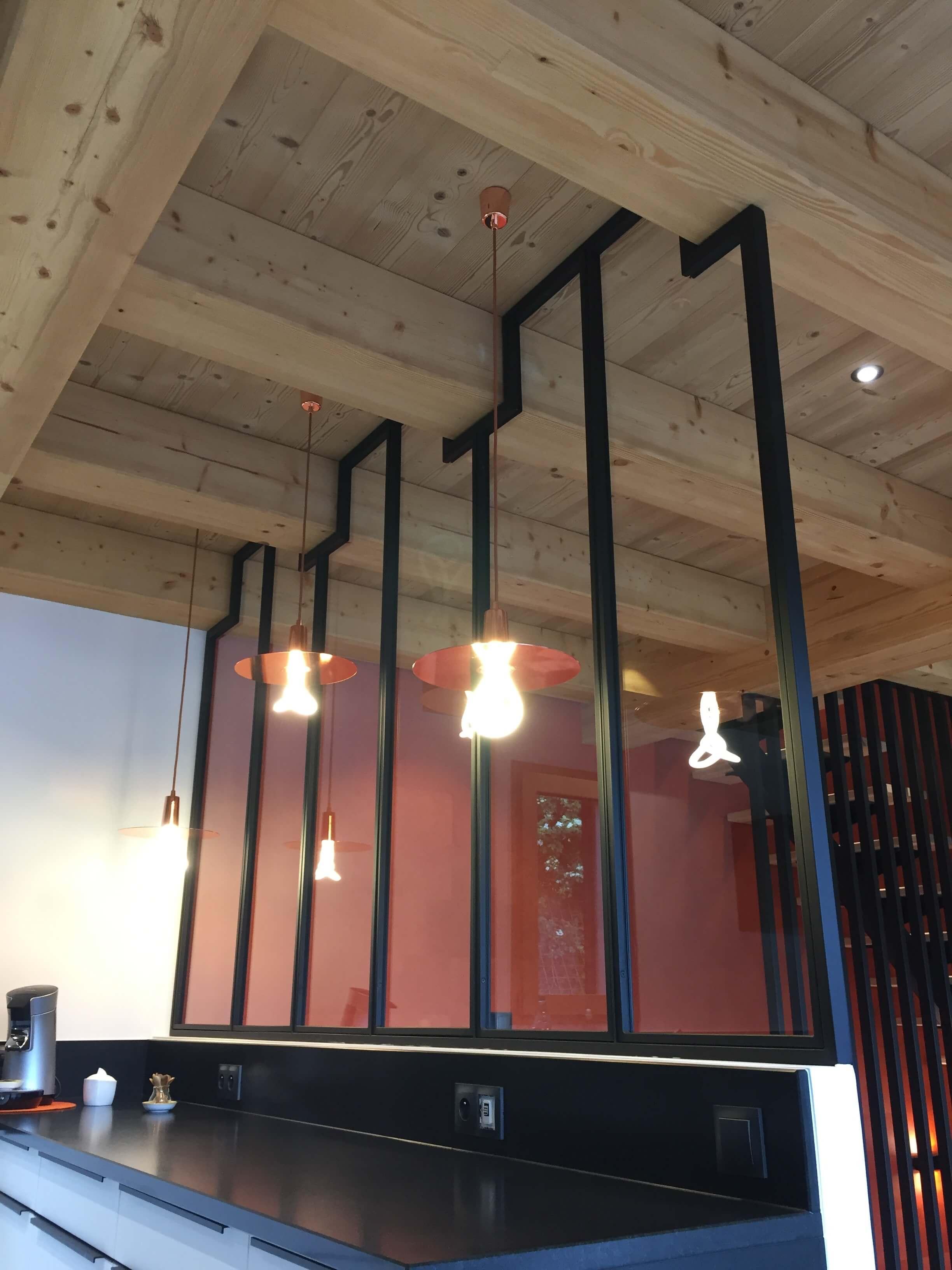 Robi design Métallique Annecy agencement intérieur verrière claustra Tarentaise 7328