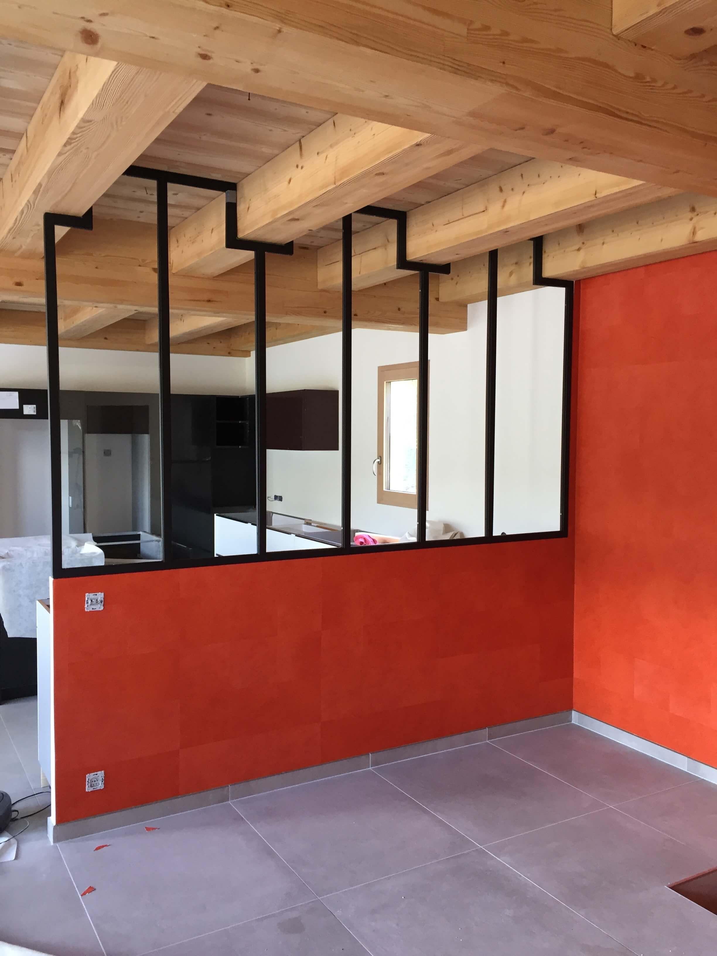 Robi design Métallique Annecy agencement intérieur verrière claustra Tarentaise 739