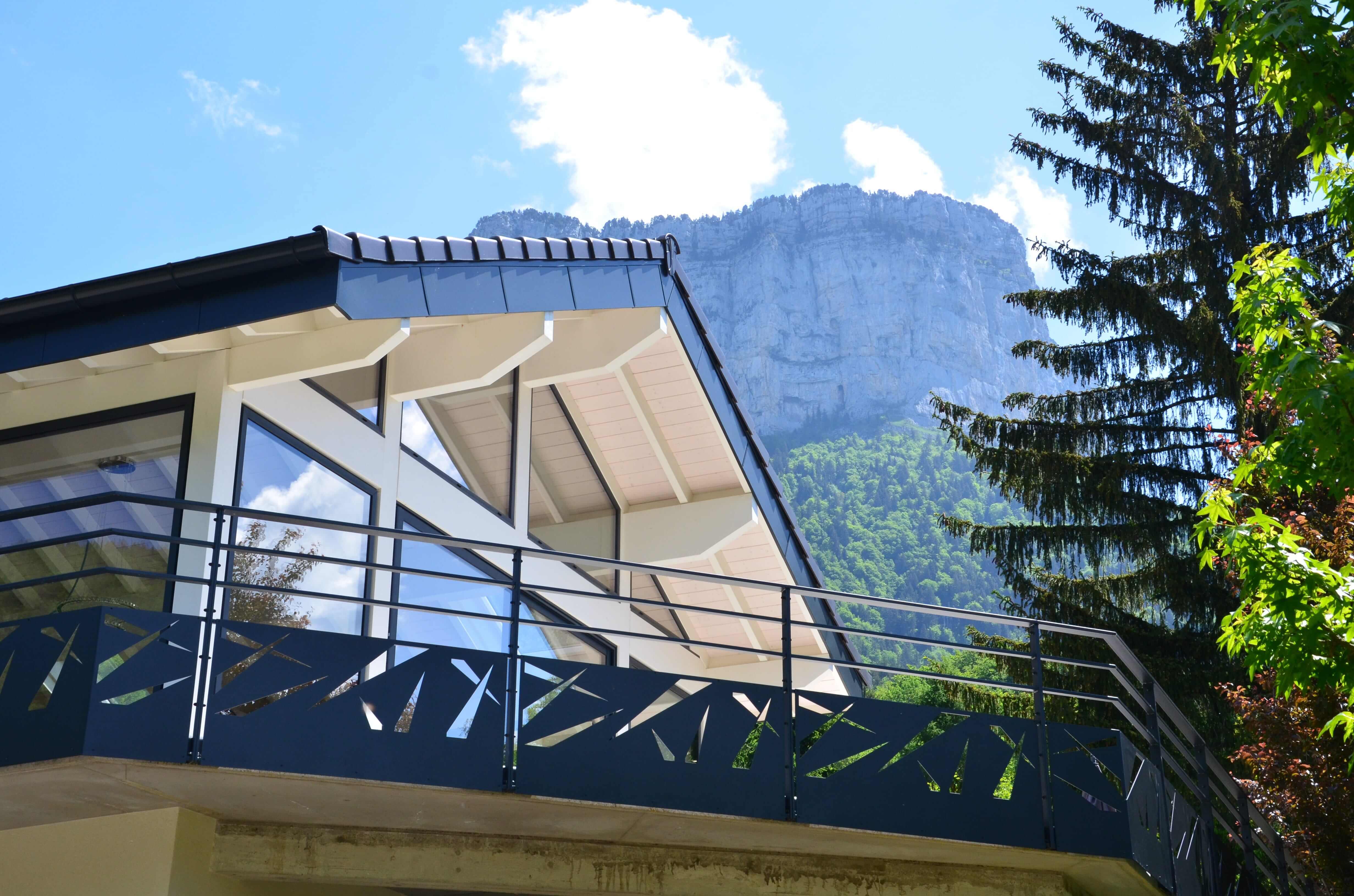 Robi design Métallique Annecy Garde-corps extérieur Diny-St-Clair 7420-min
